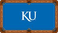 Kansas Jayhawks Billiard Table Felt - Professional