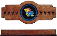 Kansas Jayhawks Hanging Cue Rack