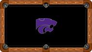 Kansas State Wildcats Billiard Table Felt - Professional 2