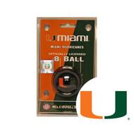 Miami Hurricanes 8 Ball