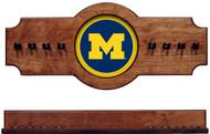 Michigan Wolverines 2-piece Hanging Cue Rack