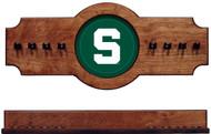 Michigan State Spartans 2-piece Hanging Rack