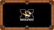 Missouri Tigers Billiard Table Felt - Professional