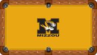 Missouri Tigers Billiard Table Felt - Professional 1
