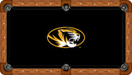 Missouri Tigers Billiard Table Felt - Recreational 3