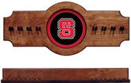 North Carolina State Wolfpack 2-piece Hanging Cue Rack