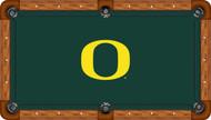 Oregon Ducks Billiard Table Felt - Recreational 1
