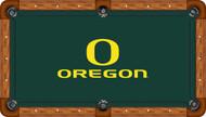 Oregon Ducks Billiard Table Felt - Professional 1