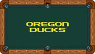 Oregon Ducks Billiard Table Felt - Professional 2