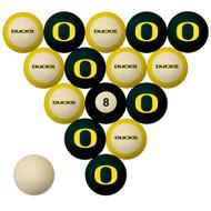 Oregon Ducks Billiard Ball Set
