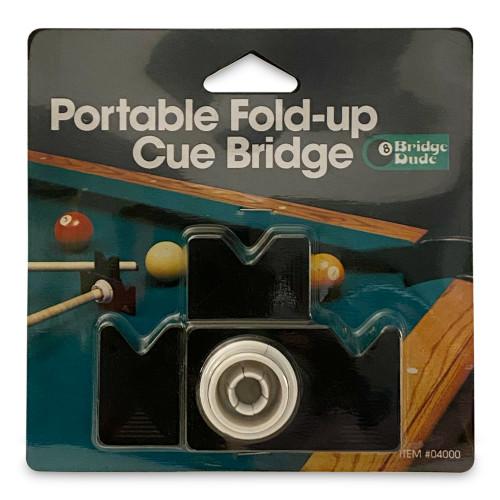 """Bridge Dude"" - Portable Fold-Up Cue Bridge"