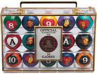 Poker Pool Ball Set