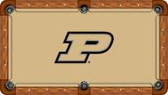 Purdue Boilermakers Billiard Table Felt - Professional 1