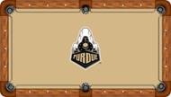Purdue Boilermakers Billiard Table Felt - Professional 3