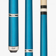 Rage Pool Cue RG95 Metallic Blue Wrapless Cue
