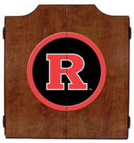 Rutgers Dart Board Cabinet