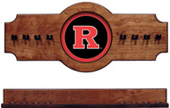Rutgers Scarlet Knights 2-piece Hanging Cue Rack
