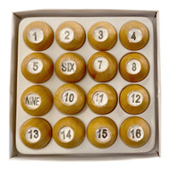Deluxe Wooden Tally Ball Set
