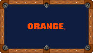 Syracuse Orange Billiard Table Felt - Recreational 4