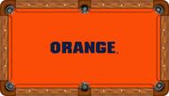 Syracuse Orange Billiard Table Felt - Recreational 5