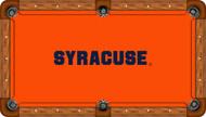 Syracuse Orange Billiard Table Felt - Receational
