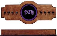 TCU Horned Frog Hanging Cue Rack