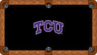 TCU Horned Frogs Billiard Table Felt - Professional 1