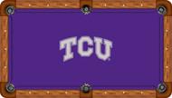 TCU Horned Frogs Billiard Table Felt - Professional 2