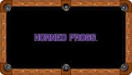 TCU Horned Frogs Billiard Table Cloth - Recreational