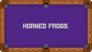 TCU Horned Frogs Billiard Table Felt - Recreational 3