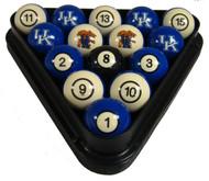 Kentucky Wildcats Billiard Ball Set