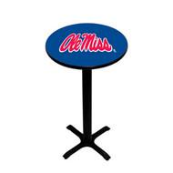 Mississippi   Pedestal Pub Table