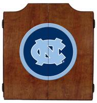 North Carolina Tar Hills Dart Board Cabinet