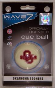 Oklahoma Sooners Cue Ball