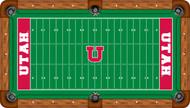 Utah Utes Billiard Table Felt - Professional 1