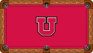 Utah Utes Billiard Table Felt - Recreational 1