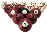 Virginia Tech Hokies Billiard Ball Set