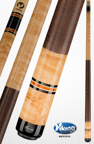 Viking Pool Cue A326 Khaki Stain