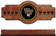 Wake Forest Demon Deacons 2-piece Hanging Cue Rack