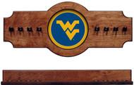 West Virginia Mountaineers 2-piece Hanging Cue Rack