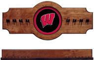 Wisconsin Badgers 2-piece Hanging Cue Rack