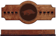 Arkansas Razorbacks Cue Rack - Medallion Series