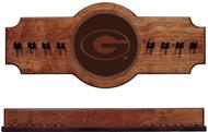 Georgia Bulldogs Cue Rack - Medallion Series