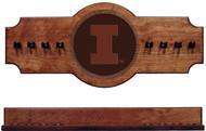 Illinois Fighting Illini Cue Rack - Medallion Series