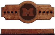 Michigan Wolverines  Cue Rack - Medallion Series