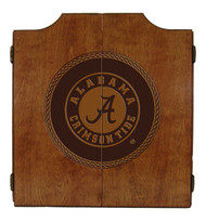 Alabama Crimson Tide Dart Cabinet - Medallion Series