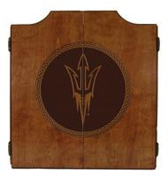 Arizona State Sun Devils Dart Cabinet - Medallion Series