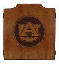 Auburn Tigers Dart Cabinet - Medallion Series