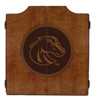 Boise State Broncos Dart Cabinet - Medallion Series