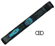 Action Calavera 2X2 Stitch Hard Cue Case